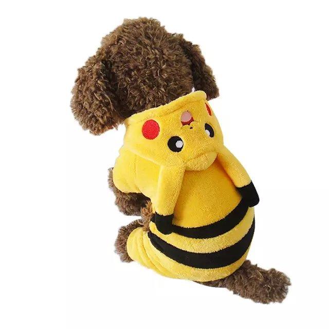 perro disfraz pikachu