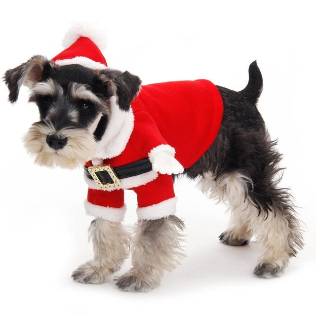 traje de navidad para perros